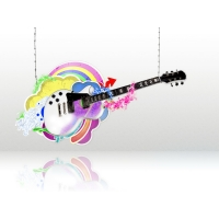 Гитара как стиль жизни - фотообои для рабочего стола и картинки