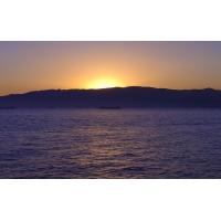 Закат над горным горизонтом - картинки и фоны для рабочего стола windows