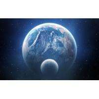Земля со спутником - картинки и новые обои на рабочий стол