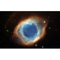 Голубое пятно в космосе - скачать обои для рабочего стола и фото