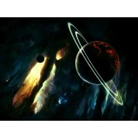 Крах солнечной системы - обои на рабочий стол бесплатно и картинки