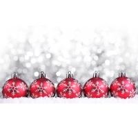 Рождественские шары - скачать картинки на рабочий стол и обои