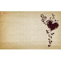Любовное письмо - широкоформатные обои и большие картинки
