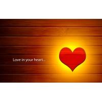 Любовь в твоем сердце - обои и прикольные картинки на рабочий стол