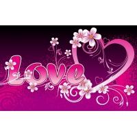 О любви - скачать обои, гламурный рабочий стол