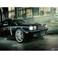 Jaguar XJ обои (4 шт.)