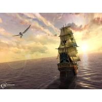 Корабль обои (2 шт.)