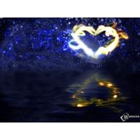 3D Огненное сердце обои скачать бесплатно и фотографии