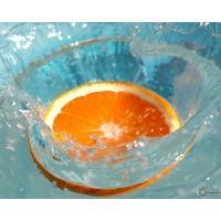 Апельсин обои (2 шт.)