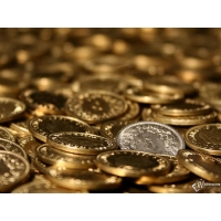 Монеты обои (2 шт.)
