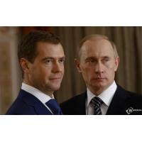 Путин с Медведевым обои и картинки на красивый рабочий стол