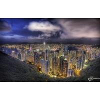 Небоскребы в Гонконге картинки - фон для рабочего стола