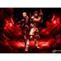 Resident Evil 5 обои (2 шт.)