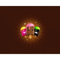 Эскимо 3d бесплатные обои и картинки