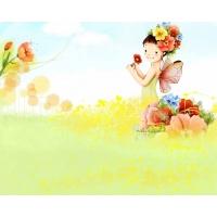 Девочка-фея 3d обои на рабочий стол бесплатно и картинки