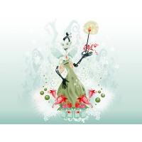 Green Fairy of Absent 3d обои для рабочего стола высокого разрешения