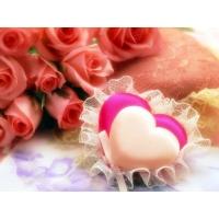 Трогательные сердечки красивые обои и фото установить на рабочий стол
