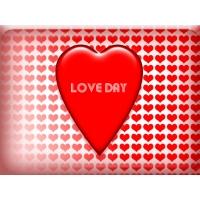 День любви обои для большого рабочего стола и картинки