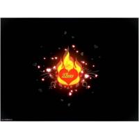 Сердце в огне красивое фото на рабочий стол и картинки