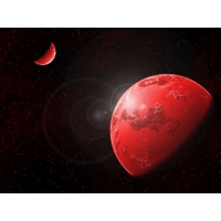 Красные планеты бесплатные картинки на рабочий стол и обои