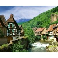 Франция, Кайзерсберг картинки на комп и обои для рабочего стола