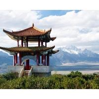 Китай, Юньнань, заснеженные горы картинки на комп бесплатно и обои для рабочего стола