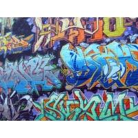 Стена, увитая граффити картинки - фон для рабочего стола