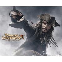 Пираты карибского моря обои (2 шт.)