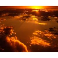 Солнце за облаками обои и картинки на красивый рабочий стол