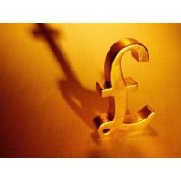 Золотой фунт большие обои и картинки для рабочего стола
