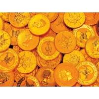 Золотые монеты скачать фото на рабочий стол и обои