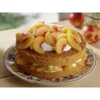 Пирог с персиками картинки и обои - оформление рабочего стола