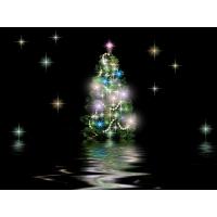 Рождественские звезды обои и фото на красивый рабочий стол скачать