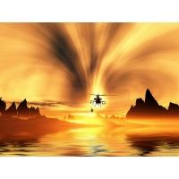 Вертолеты обои (2 шт.)