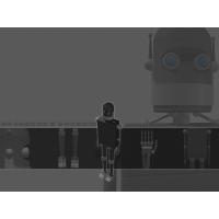 Роботы обои (2 шт.)
