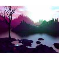 Предрассветные краски клевые картинки - тюнинг рабочего стола