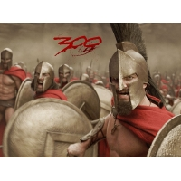 Триста Спартанцев обои (10 шт.)