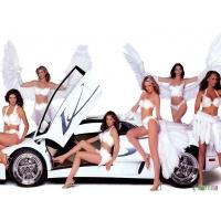 Ангелочки стоят около хорошей машины - картинки - фон для рабочего стола, авто и девушки