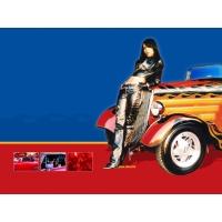 У авто прошлого - обои и прикольные картинки на рабочий стол, рубрика - авто и девушки