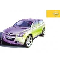 Opel обои (4 шт.)
