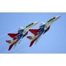 Истребители МиГ-29  стрижи, обои для рабочего стола скачать бесплатно, картинки