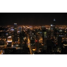 Ночной город с небоскрёбами, картинки и обои скачать бесплатно на рабочий стол