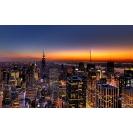New York закат над городом скачать бесплатно картинки на комп и обои