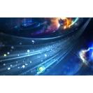 Синий звездный поток картинки, обои и картинки на красивый рабочий стол