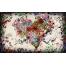 (1000х800, 219 Kb) Цветочное сердце, фоновые рисунки на рабочий стол