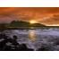 (1000х1200, 693 Kb) Закат над бушующим морем - обои для большого рабочего стола и картинки